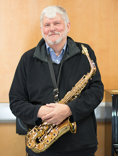 Iain, Jazz School student