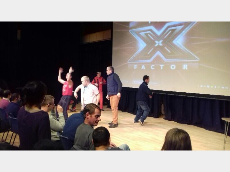 Supported Learning Students X Factor