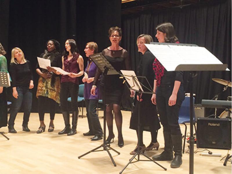 Richmond Jazz School Concert Performance